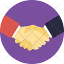 Respect Friendship Handshake Icon