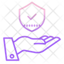 Hand Shield Security Shield Shield Icon