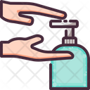 Cleaning Hand Wash Icon
