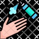 Hand Spray Sprayer Hand Cleaning Spray Icon