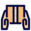 Hand to hand delivery Icon