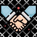 Shaking Hand Virus Icon