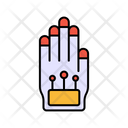 Hand Tracking Hand Scanning Secure Tracking Icon