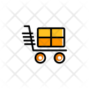 Cart Shopping Hand Cart Icon