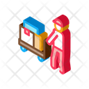 Courier Delivery Shipping Icon
