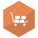 Dolly Trolley Handtruck Icon