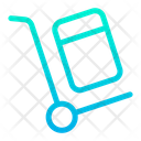 Handtruck Delivery Truck Delivery Icon