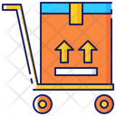 Truck Package Hand Icon