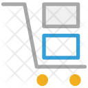 Hand Truck Luggage Icon