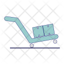 Cart Shop Hand Truck Icon
