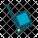 Hand Truck Box Icon