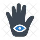 Hand View Astrology Icon