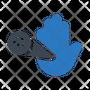 Hand Virus Icon