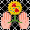 Hand Coronavirus Covid Icon