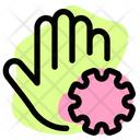 Hand Virus Corona Hand Virus Hand Icon
