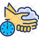 Hand Wash Cleaning Icon