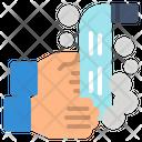 Clean Coronavirus Covid Icon