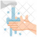 Faucet Hand Water Icon