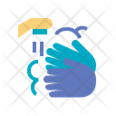 Soap Hygiene Hand Icon