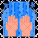 Virus Covid Wash Icon