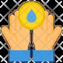 Hand Washing Water Washing Icon