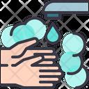 Hand Wash Washing Icon
