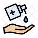 Soap Sanitizer Cleaning Icon