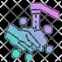Water Wash Hand Icon