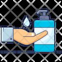Hand Sanitizer Hand Hygiene Liquid Soap Icon