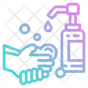Hand Wash Water Wash Icon