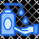 Hand Wash Hygiene Clean Icon