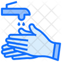Hand Wash Water Clean Icon
