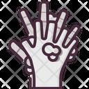 Hand Wash Gesturing Tap Icon