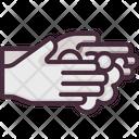 Hand Wash Washing Hand Gesturing Icon