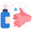 Alcohol Soap Hands Icon