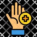 Hand Washing Medical Washing Icon