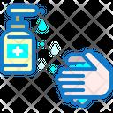Washing Virus Clean Icon