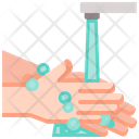 Cleaning Coronavirus Wash Icon