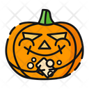 Hand Washing Pumpkin Halloween Icon