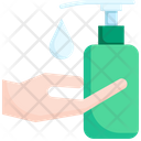 Hand Washing Gel Hygiene Clean Icon
