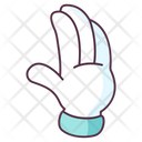 Hand Waving Icon