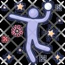 Handball Softball Olympic Sports Icon