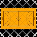 Handball Field Game Icon