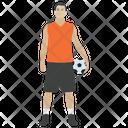 Handball player png