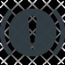Handbrake Allert Warning Icon