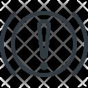 Handbrake Allert Car Icon