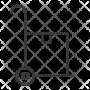Handcart Icon