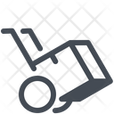 Delivery Handcart Logistics Icon