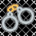 Arrested Criminal Handcuffs Icon