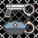 Handcuffs Crime Justice Icon